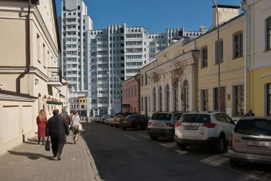 """Minsk - synagogue """"of the churches"""""""