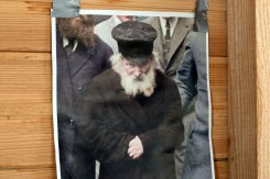 Radun - in the ohel of Rabbi Yisrael Meir Kagan
