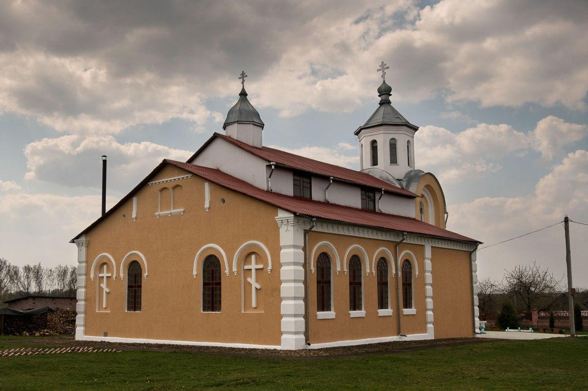 Razhanka - former synagogue, now a church