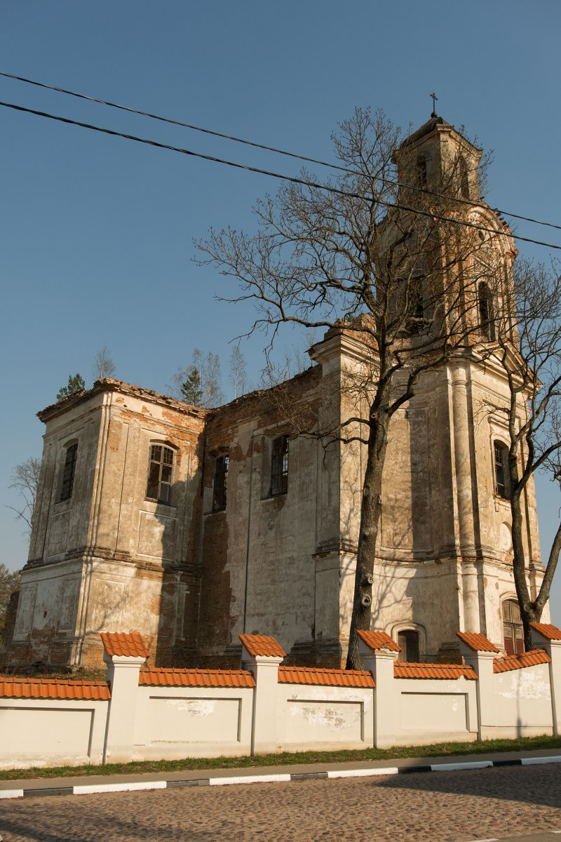 Lyskava - Catholic church