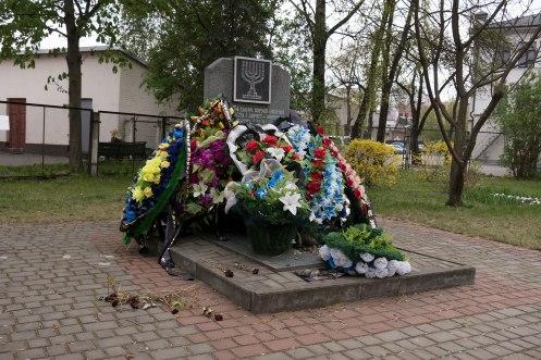Brest - Holocaust memorial