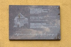 Kapyl - plaque for Menahem Mendel Sforim