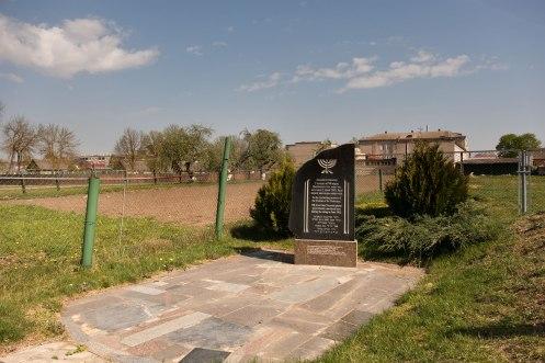 Nyasvizh - memorial on a mass grave