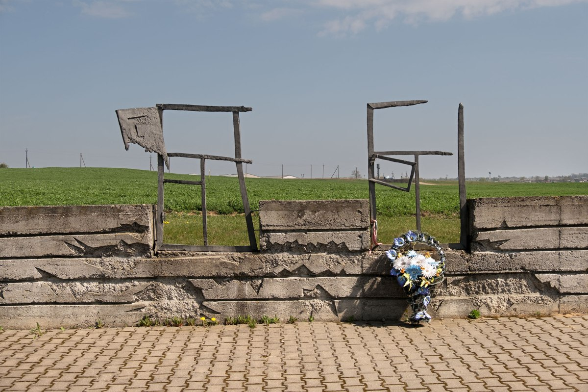 Garadeya -memorial on a mass grave
