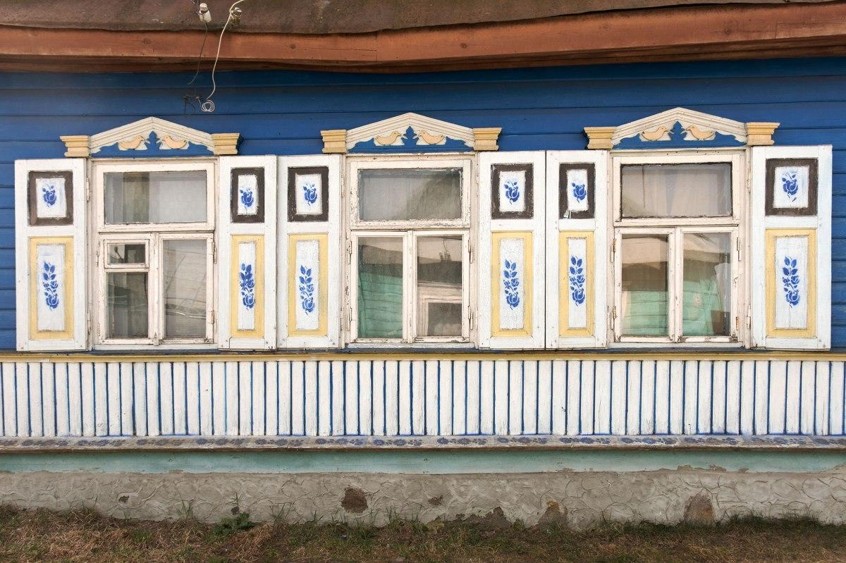 Rakaw - wooden house in a former Jewish neighbourhood