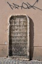 Regensburg - Jewish tombstone