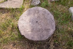 Lutsk - returned tombstones at the massgrave site