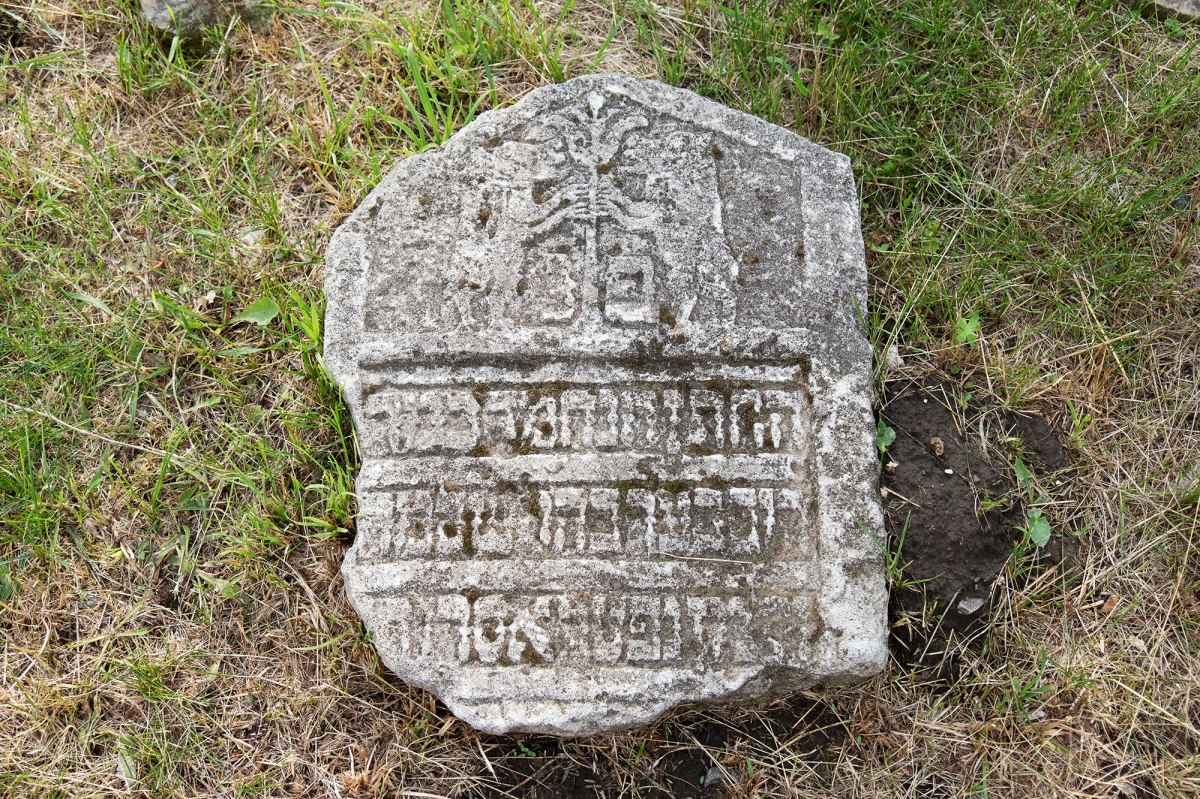 Lutsk - returned tombstones at the massgrave site