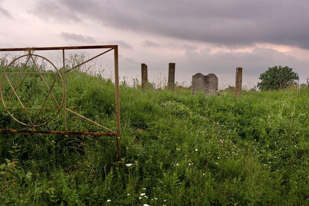 Stoyaniv - Jewish cemetery