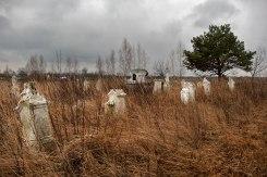 Rivne (Königsau) - German cemetery