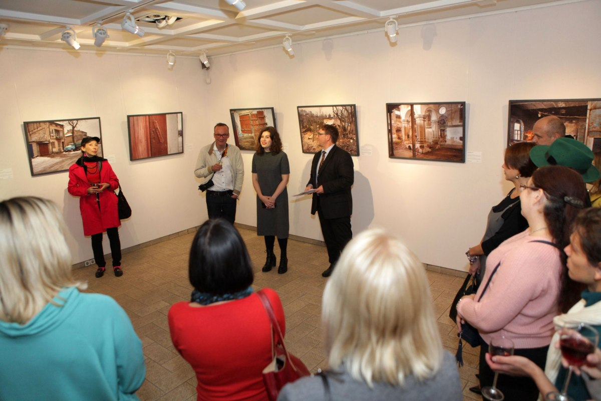 Kyiv - exhibition opening at Triptych: Global Arts Workshop - © Triptych: Global Arts Workshop