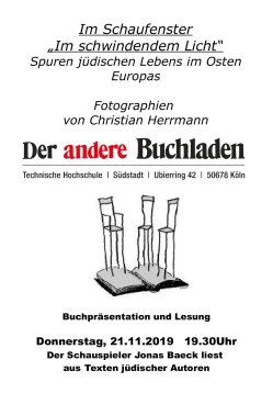 Cologne - exhibition flyer