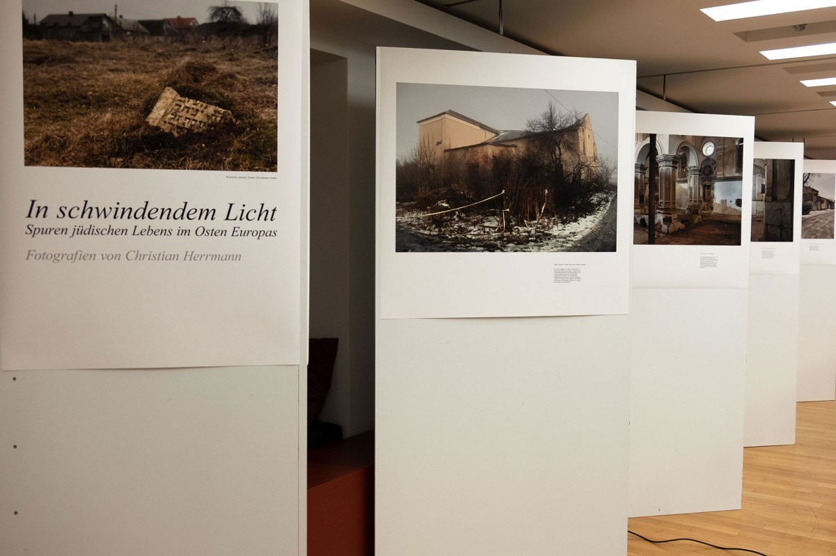 Cologne - exhibition opening at Lew Kopelew Forum