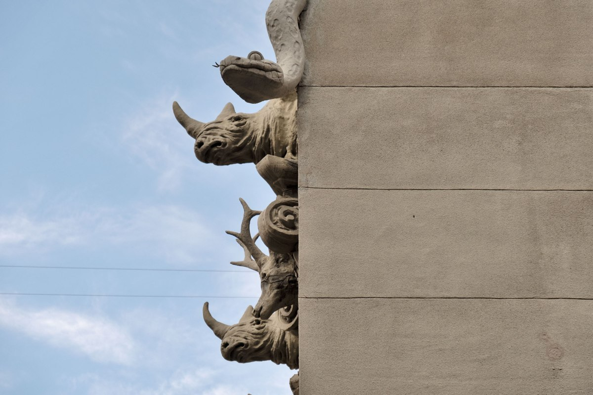 Kyiv - House with Chimaeras