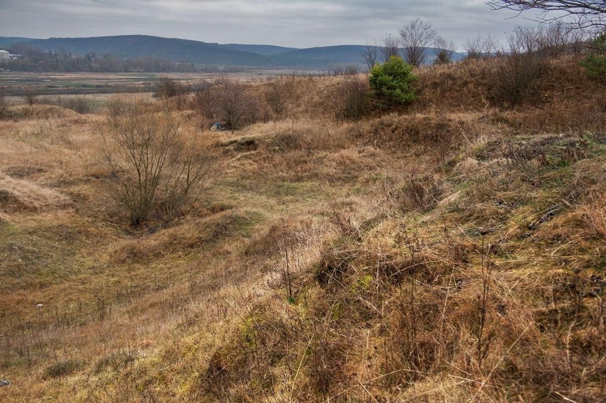 Pomoriany - destroyed Jewish cemetery