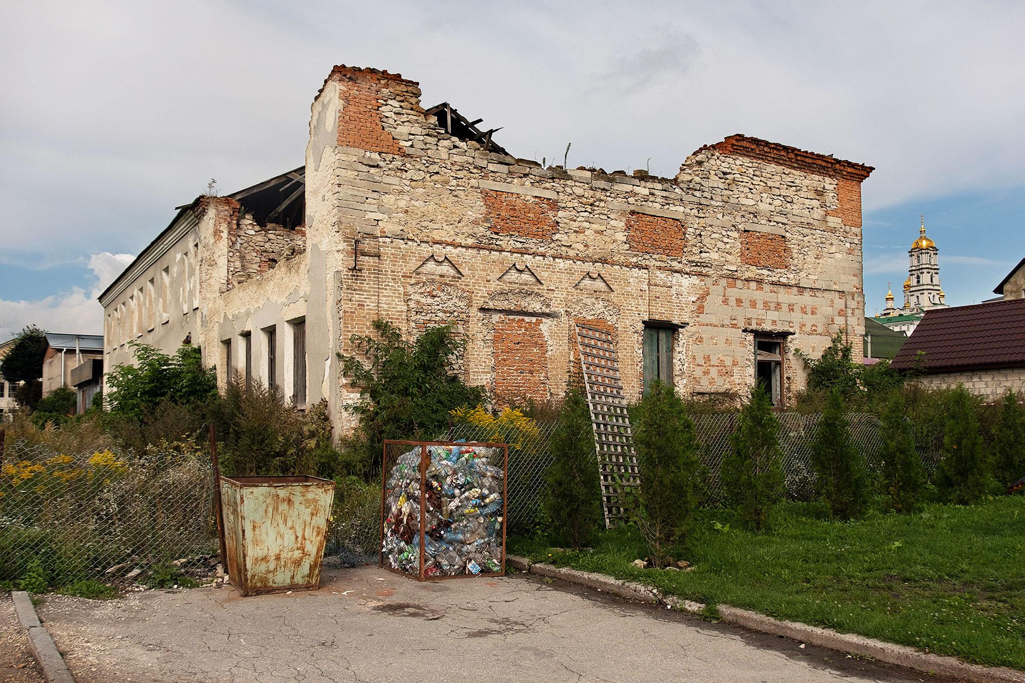 Pochaiv - Former synagogue