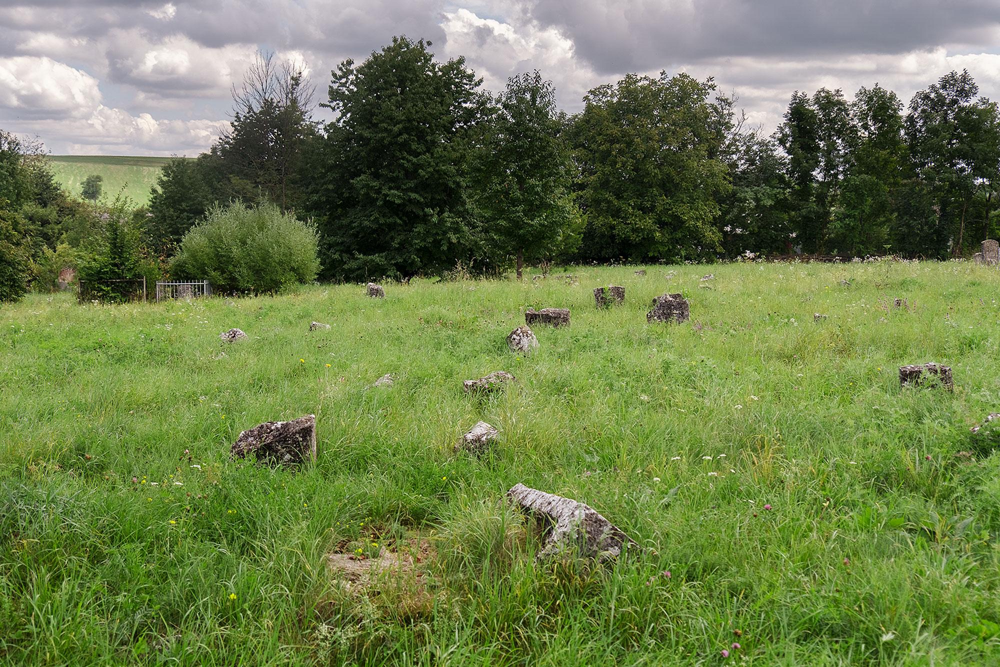 Dunaivtsi - Jewish cemetery