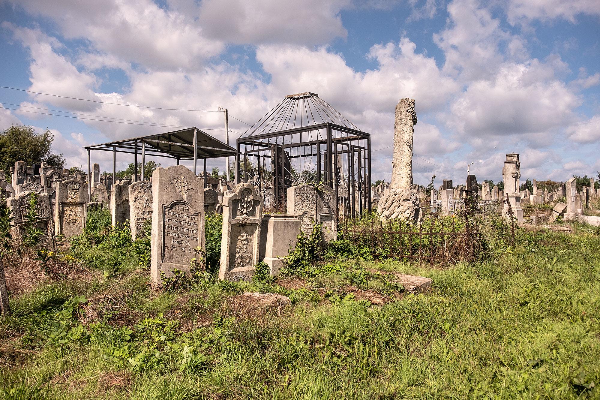 Chernivtsi - Jewish cemetery